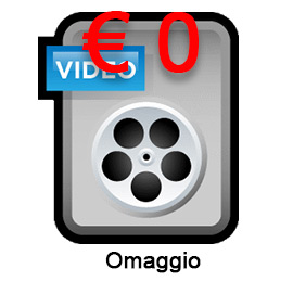 Consegna su file digitale video a scelta