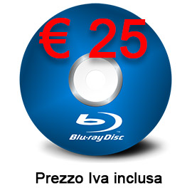 Riversamento in Blu-Ray HD 16:9 con bande